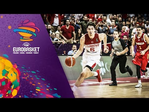 Cedi Osman's highlights vs Russia (28pts, 7reb, 4ast, 7stl)
