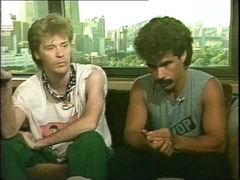 Sounds: Donnie interviewing Hall & Oates (1984)