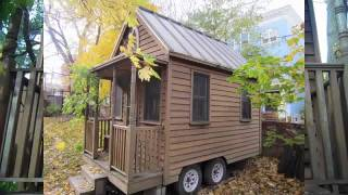 Deek Tours The First Built Tumbleweed Tiny/small House Cabin In Boston