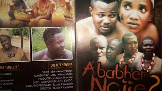 Ababhen-Nojie 2(latest Esan movie 2017 and 2018)