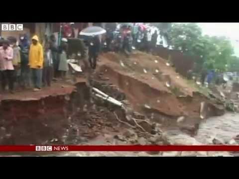 BBC News   Malawi floods displace 200,000