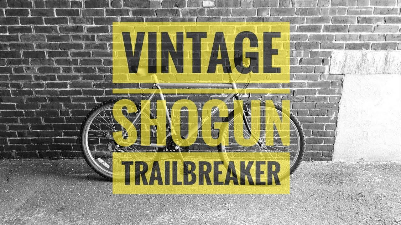 98b726781ac Vintage Shogun Trailbreaker Mountain Bike - YouTube