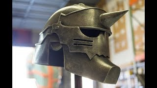 FullMetal Alchemist - Alphonse's Helmet - Pepakura