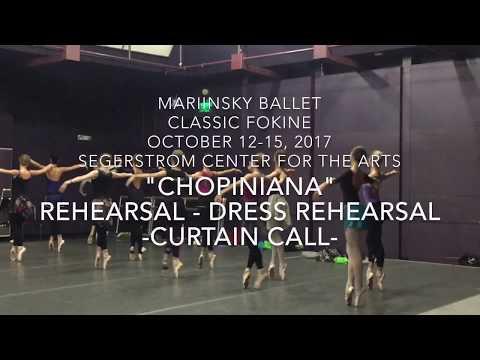 "Mariinsky Ballet ""Chopiniana-Le Sylphides"" Rehearsal * Directed by Gina Ardani"