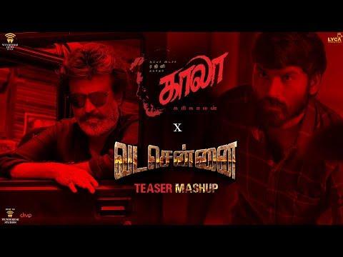 Kaala x VadaChennai | Fan Made Teaser Mashup | Rajinikanth | Dhanush | Wunderbar Films