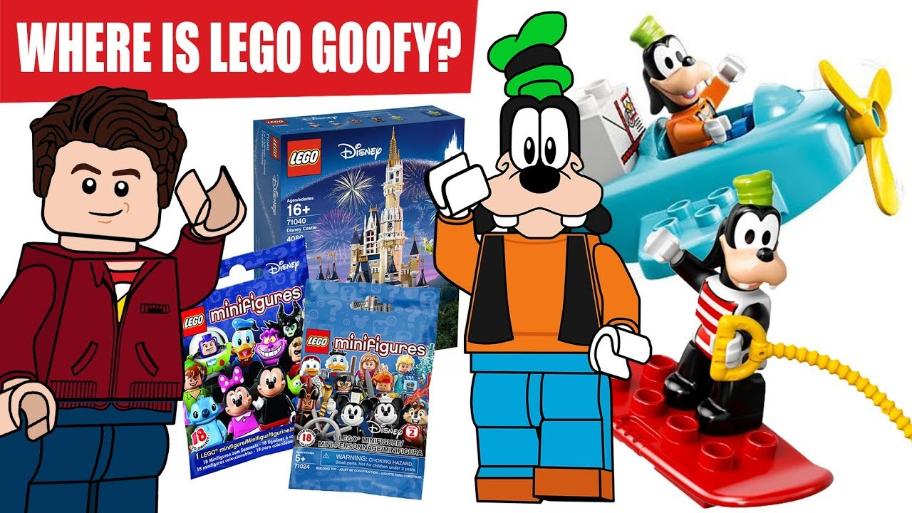 WHERE IS LEGO GOOFY!?!?