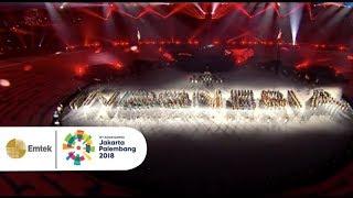 Download lagu KEREN ABIS! Aksi Marching Band Sebagai Pembuka Acara Closing Ceremony Asian Games 2018