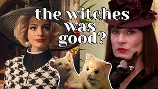 the witches remake is actually GOOD? (a review) 🧙🏻‍♀️🐁🧪