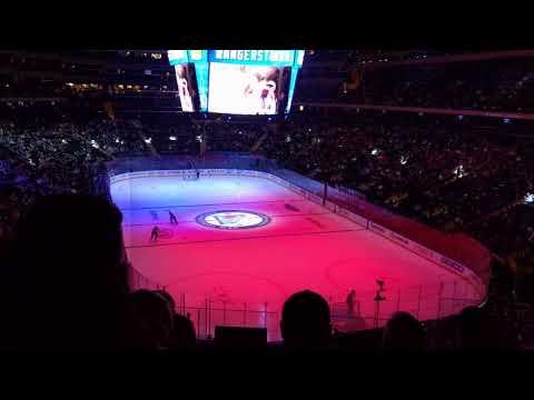Madison Square Garden - New York Rangers vs Ottawa Senators