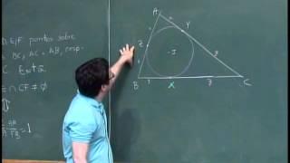 Geometria ( Ceva Menelaus ) - Nível 2
