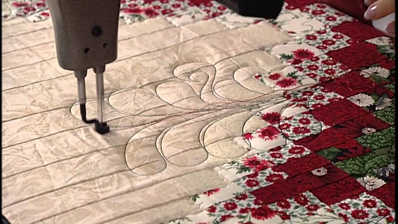 Linda's Longarm Quilting Season 2 Episode 12 - YouTube : quilting season - Adamdwight.com