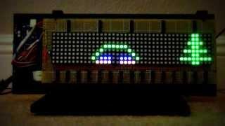 Christmas LED Matrix Display