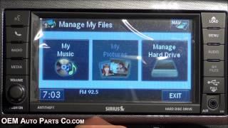 RHB 430N MyGIG GPS Navigation Radio - Easy Plug & Play Install! - Chrysler Dodge Jeep Ram