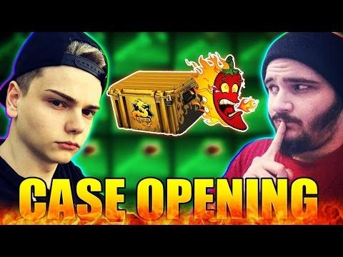 PROVOCAREA CU ARDEI IUTE! - CS:GO Case Opening