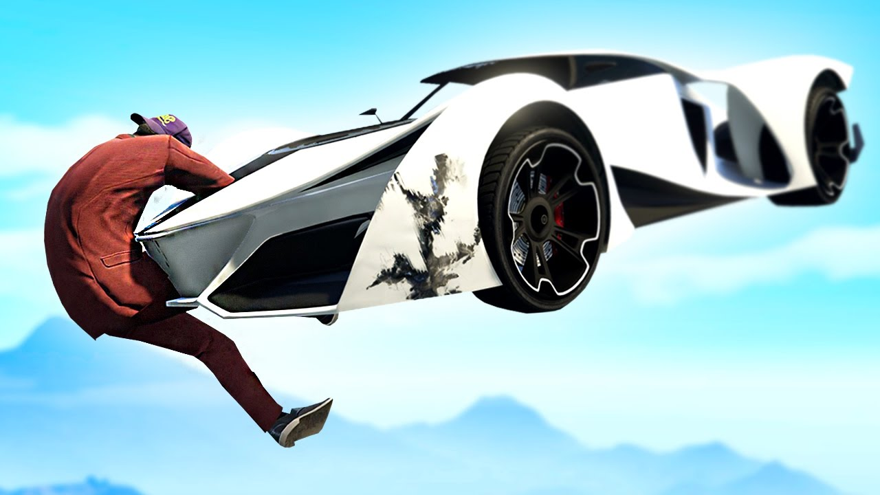 EXTREME RUNNERS vs FLYING CARS GTA 5 Funny Moments  Doovi