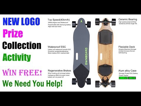 OWNBOARD ELECTRIC SKATEBOARD NEW LOGO Prize Collection Activ