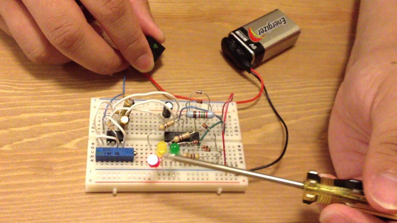 Traffic Light Circuit Demo  YouTube