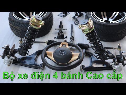 Trọn bộ chế xe ô tô điện 4 bánh cao cấp phanh dầu hệ thống treo độc lập LH 0983818955