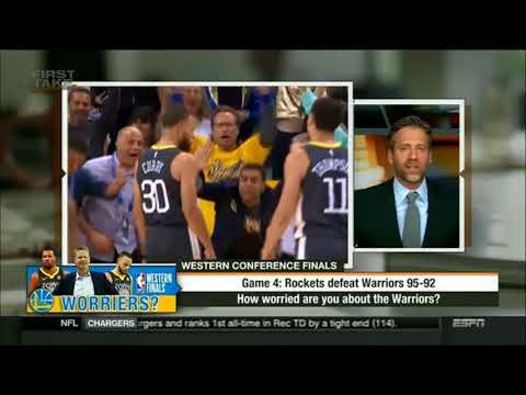 \ How worried are you about the Warriors?First Take