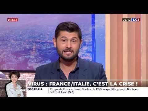 Coronavirus: France / Italie, c'est la crise !