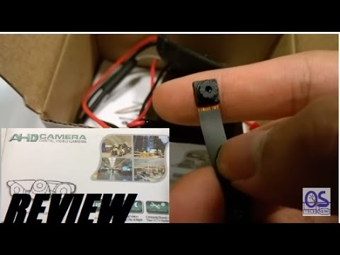 REVIEW: FREDI HD 720P WiFi Mini Spy Camera?!