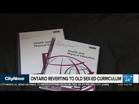 Ontario PCs repeal sex-ed curriculum
