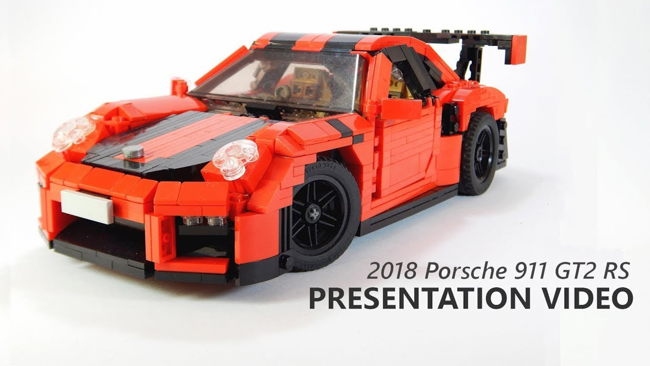 lego 2018 porsche 911 gt2 rs presentation youtube. Black Bedroom Furniture Sets. Home Design Ideas
