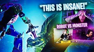 *NEW* ROBOT VS MONSTER EVENT REACTION!! FT. COURAGE, DRLUPO & JORDAN FISHER!