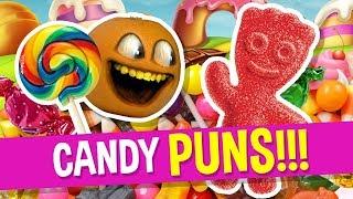 Annoying Orange - Candy Puns!