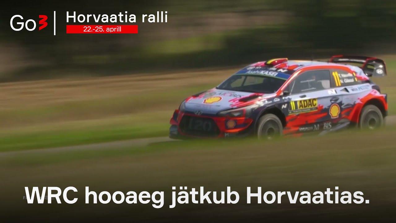 Kas Tänak ja Järveoja jätavad ka Horvaatias konkurendid selja taha?