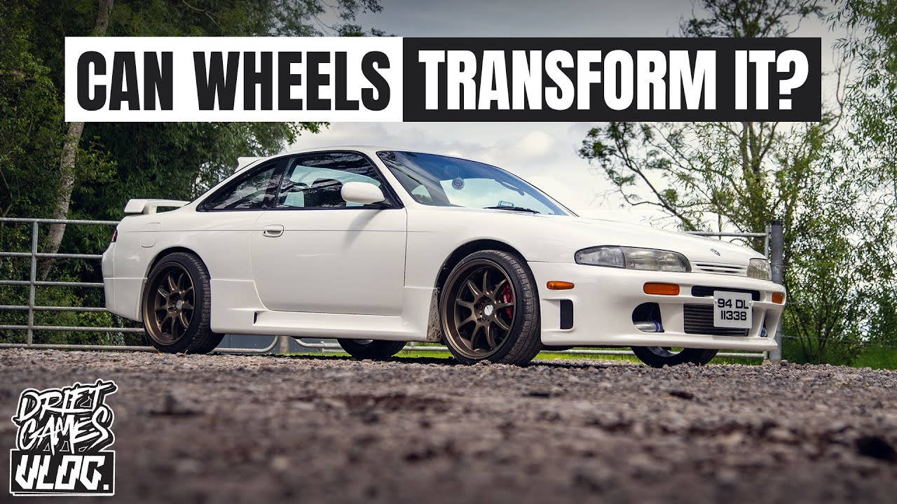 NEW WHEELS FOR OUR RB25 SILVIA S14   FEATURING JUICEBOXFORYOU