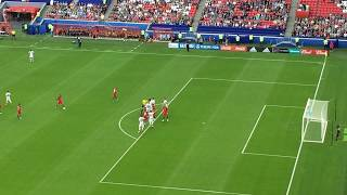 Португалия - Мексика. Штрафной Роналду и отменённый гол Пепе