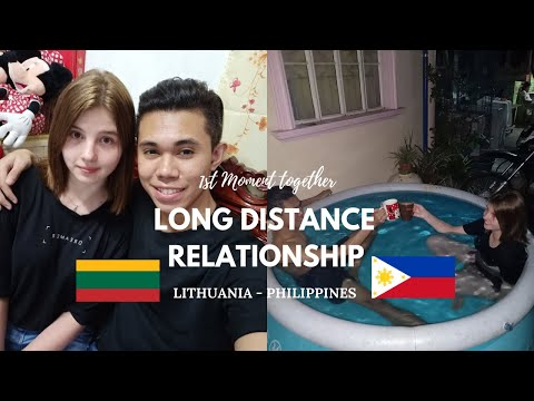 1st MOMENT TOGETHER | LDR - LONG DISTANCE RELATIONSHIP  | FILIPINO AND LITHUANIAN