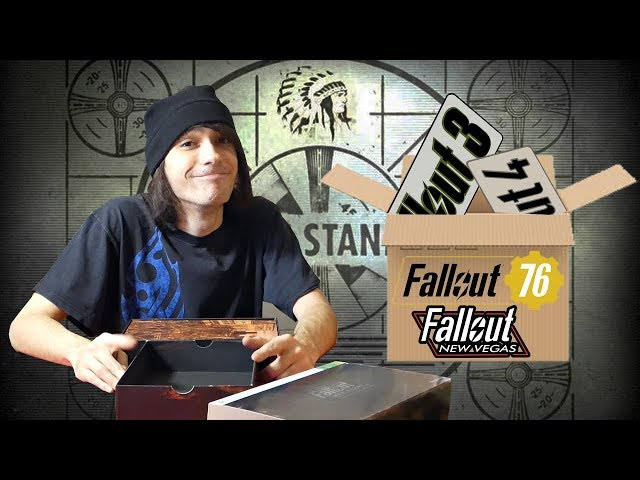 Unboxing EVERY FALLOUT COLLECTOR'S EDITION! (Fallout 3, Fallout New Vegas, Fallout 4 and Fallout 76)