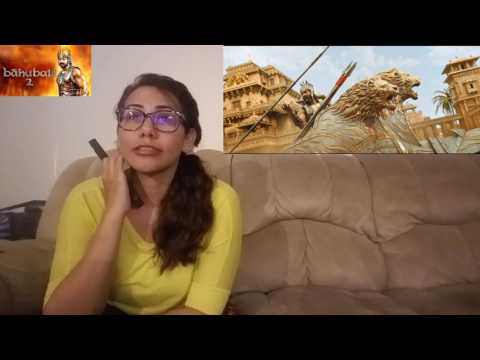 Baahubali 2  The Conclusion Official Trailer Cynthia's Reaction S.S. Rajamouli