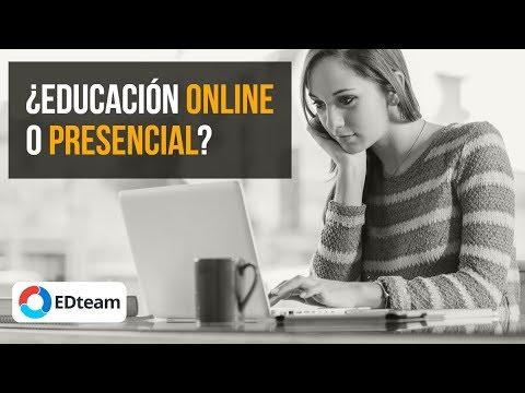 ¿Educación presencial o educación online?
