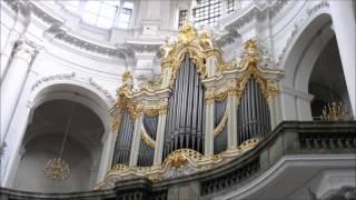 J. S. Bach. Katholische Hofkirche, Dresden.