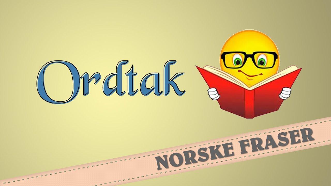 Norsk ordtak