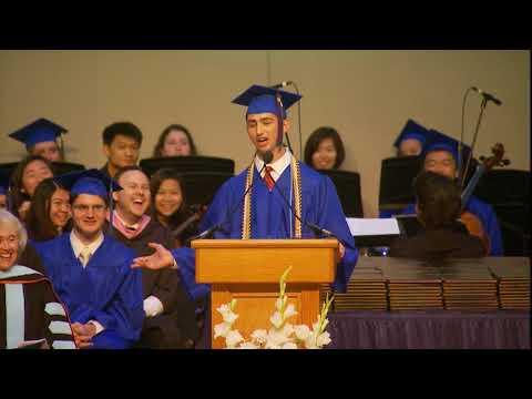 Winston Churchill High School - Max Smith Graduation Speech 2017