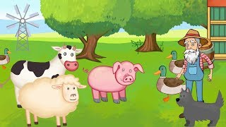Old MacDonald and Farm Animals | Songs Nursery Rhymes for a Good Day