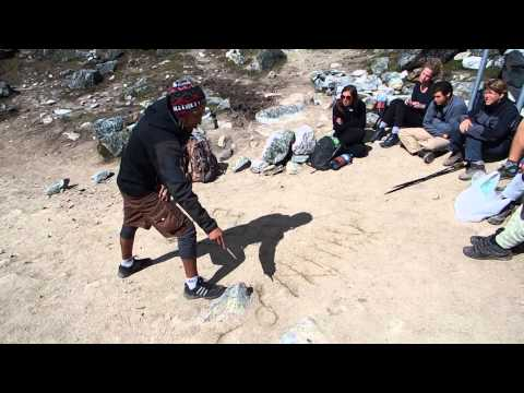 Denis Darwin - Salkantay trail - Explanation about Inca culture