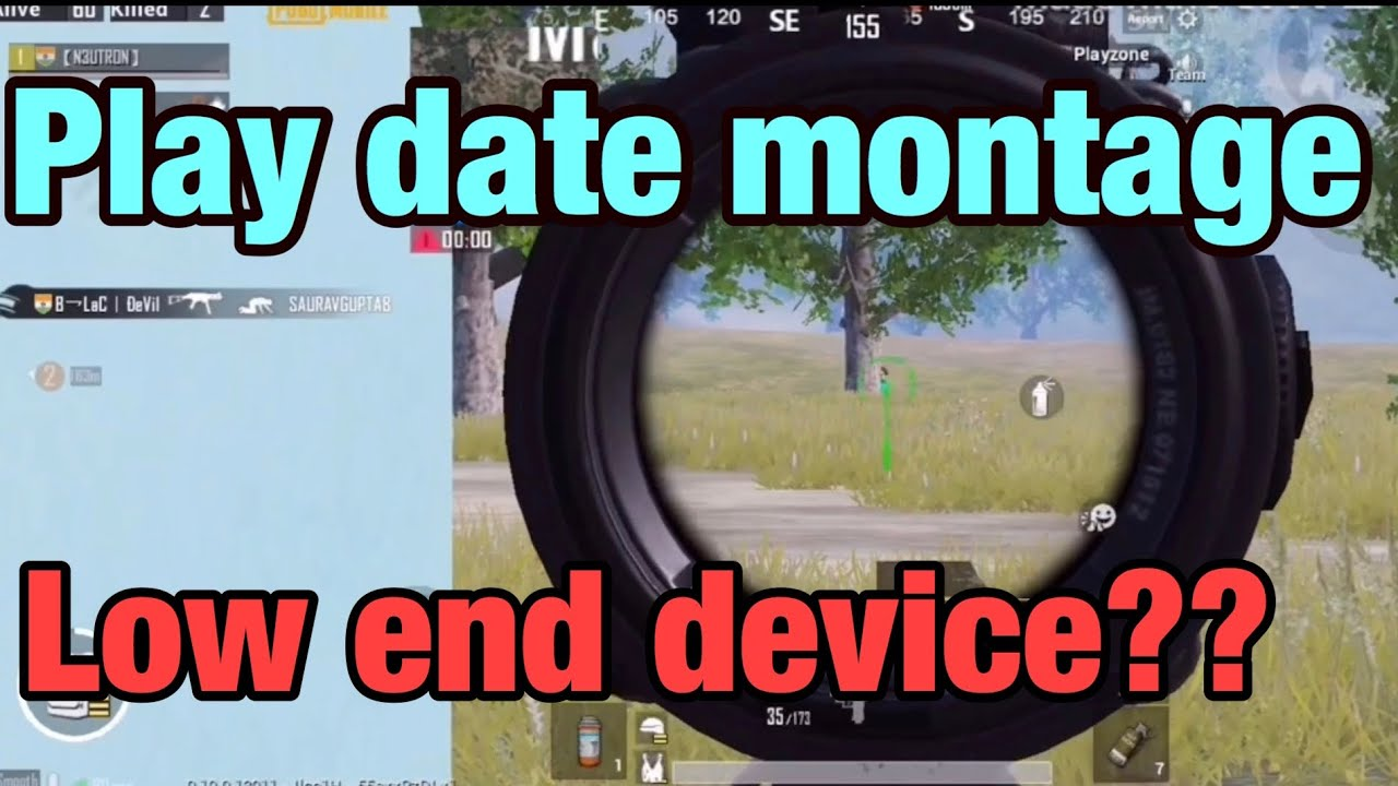 PLAY DATE   A PUBG MOBILE MONTAGE   LOW END DEVICE PLAYER ?? SMOOTH EXTREME
