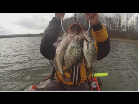 how to catch spring crappie