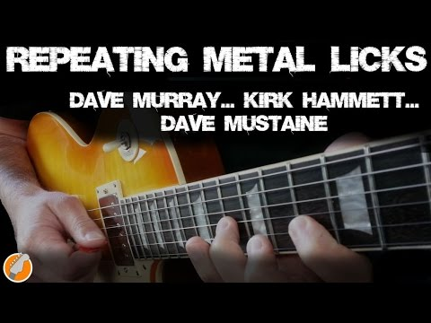 Rock Licks - Repeating Metal Licks in Style of Dave Murray, Kirk Hammett and Dave Mustaine