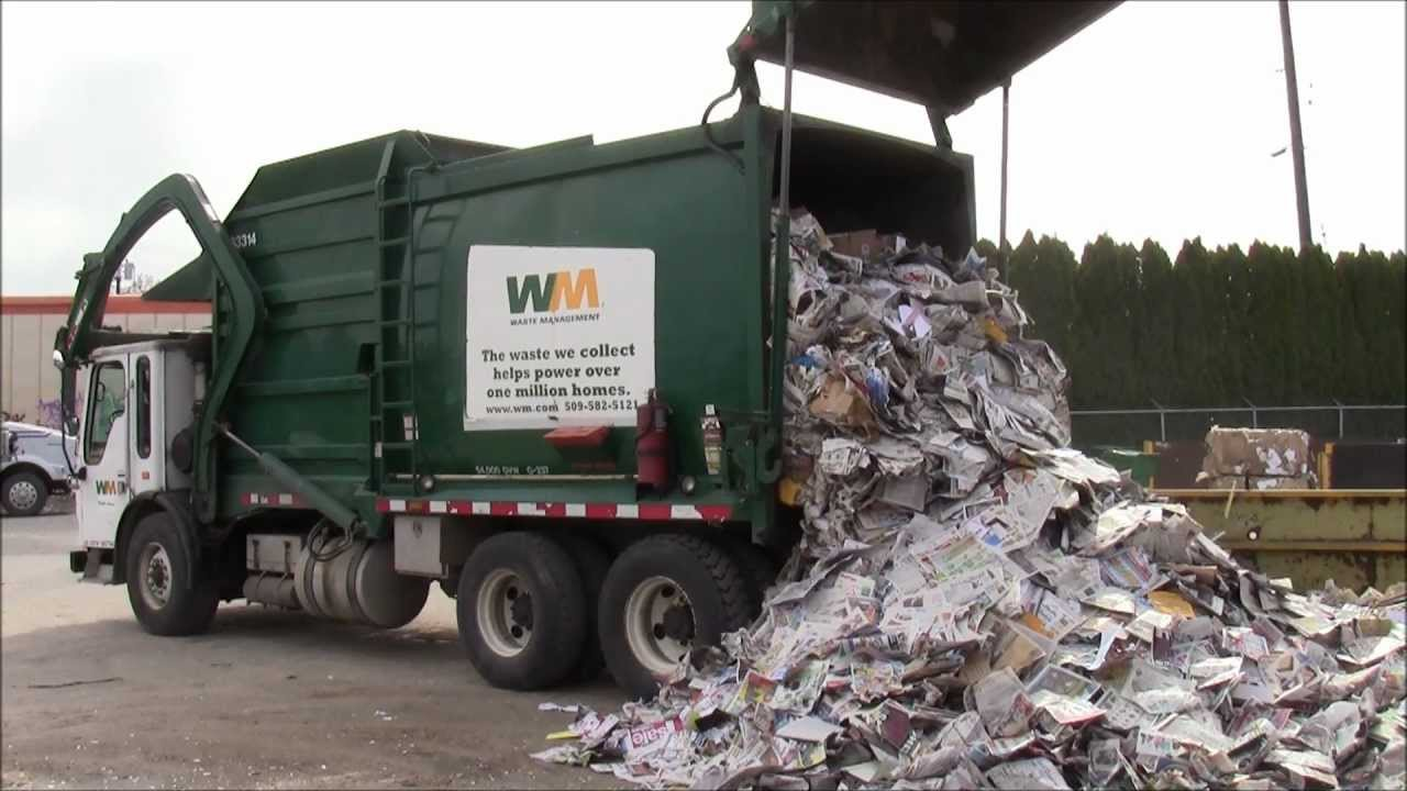 A Visit To The Local Recycling Center