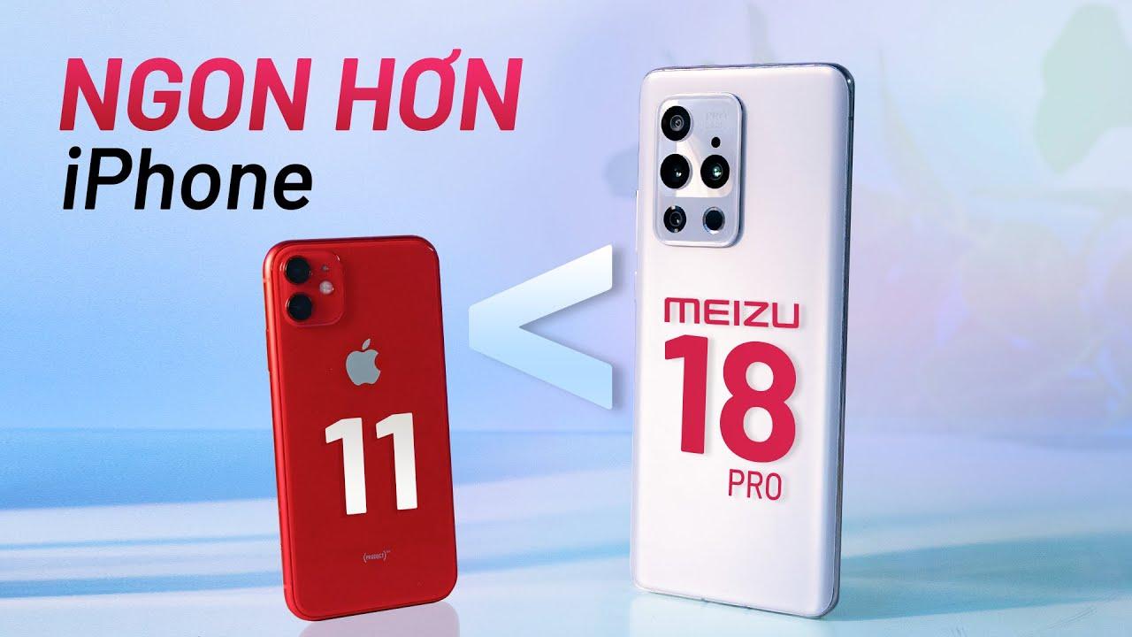 Đánh giá Meizu 18 Pro: copy y nguyên Apple và ngon hơn iPhone 11