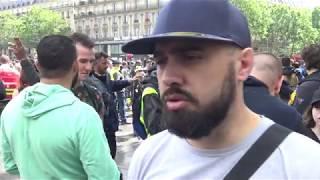 Gilets jaunes Acte 28 : peu de monde, des tensions (25 mai 2019, Paris)
