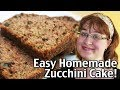 Easy Homemade Zucchini Cake! Making Camping Food and 5 Dollar Dinners!