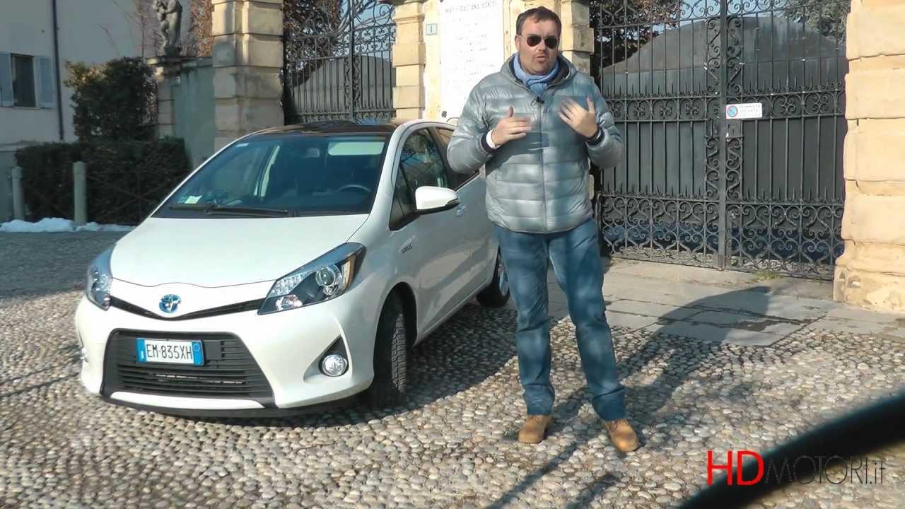 Toyota yaris hybrid test drive da doovi for 500x hdmotori