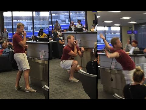 Airline passenger turns flight delay into karaoke session  - Travel Guide vs Booking